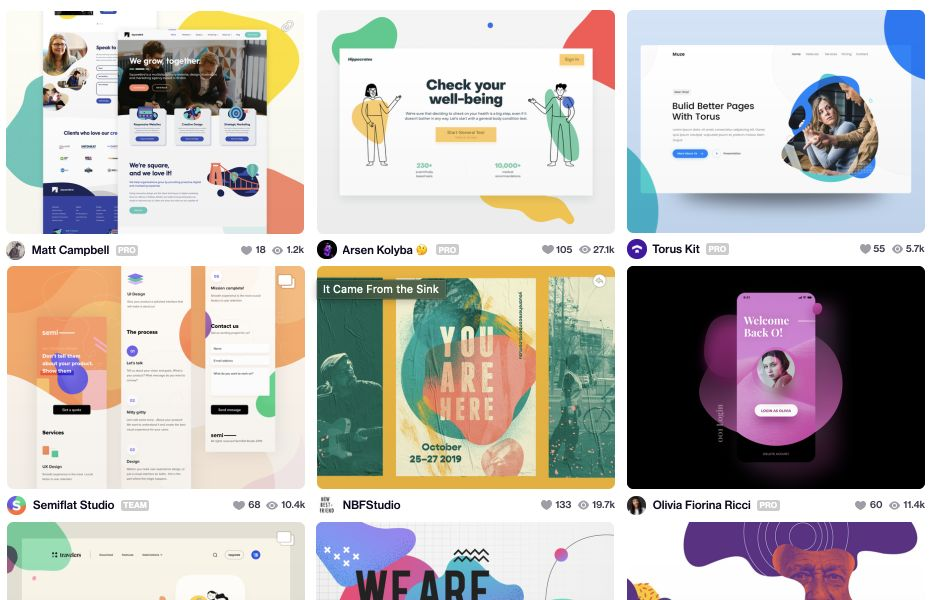 From Dribbble