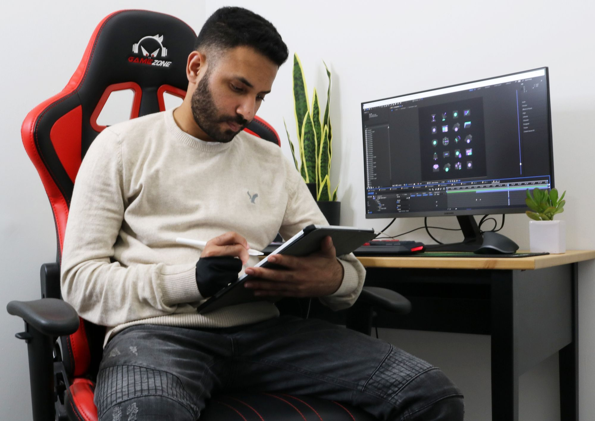 Eden is an Israeli Interactive UX/UI Designer and Illustrator